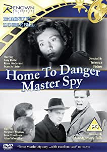 Home To Danger/Master Spy [DVD]