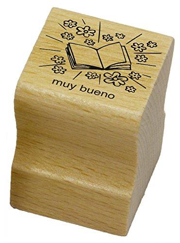 elbi-lehrerstempel-strahlendes-heft-mit-lobworten-muy-bueno-spanischstempel-aus-holz-n14-2