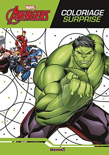 Marvel - Avengers - Coloriage surprise par
