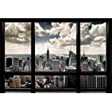 Maxi Poster featuring A View of New York City from the GE '30 Rock' Building 61x91.5cm
