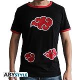 ABYstyle - Naruto Shippuden - Tshirt Akatsuki Homme Black (S)