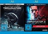 Terminator 1 + 2 - Tag der Abrechnung - Special Extended Edition + Kinofassung (Arnold Schwarzenegger) / Digital Remastered - Uncut 2 Disc Film Set (2 Blu-ray)