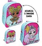 L.O.L. Surprise! LOL-23127 Zaino Asilo Zainetto per Bambini, 30 cm, 15 litri, Fucsia