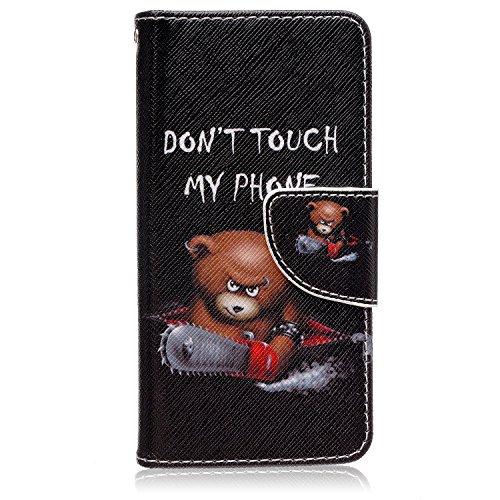 AYASHO® Samsung Galaxy S7 Edge Folio PU Wallet Case Schutzhülle ,Soft Backcover Handy Tasche Flip Cover Buchstil mit Standfunktion Karteneinschub und Magnetverschluß Etui Flip Case für Samsung Galaxy  X6