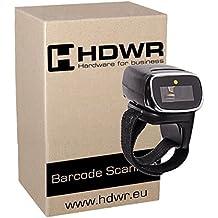 Inalámbrico Bluetooth Dedo escáner de código de barras De 32 bits del decodificador, Tamaño pequeño, el motor láser, 1D, Windows, Linux, Android, HD75