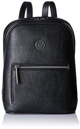 Tommy Hilfiger Damen Th Core Mini Backpack Rucksack, Schwarz (Black), 28x13x23 cm