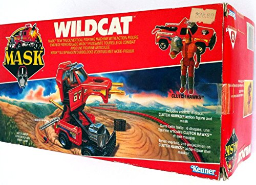 Wildcat MASK vehicle toy