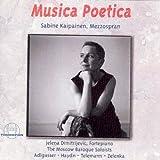 Adlgasser - Haydn - Telemann - Zelenka: Musica Poetica by Sabine Kaipainen