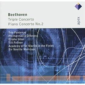 Beethoven : Triple Concerto & Piano Concerto No.2 - Apex