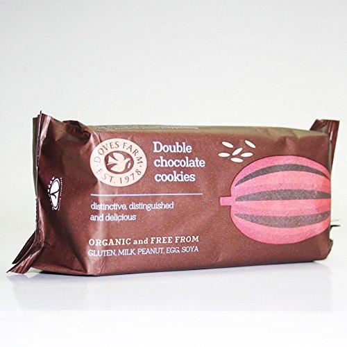 Galletas ecológicas doble chocolate DOVES FARM (24 paquetes de 180 gr)