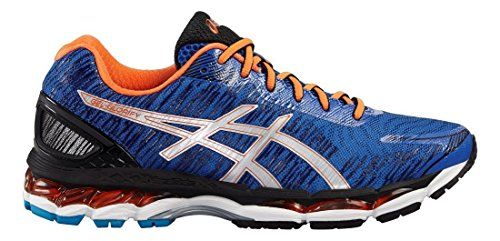 ASICS Performance Herren Laufschuhe 5993 TURKISH SEA/SILVER/FLAME