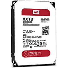 Western Digital Red Pro 8000GB Serial ATA III - Disco duro (5 - 60 °C, -40 - 70 °C, Serial ATA III, Unidad de disco duro)