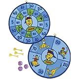 Hudora - Diana de velcro (incluye flechas y pelotas)
