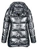 Alba Moda Damen Jacke in Trendiger Metallicoptik Wärmend 44 by