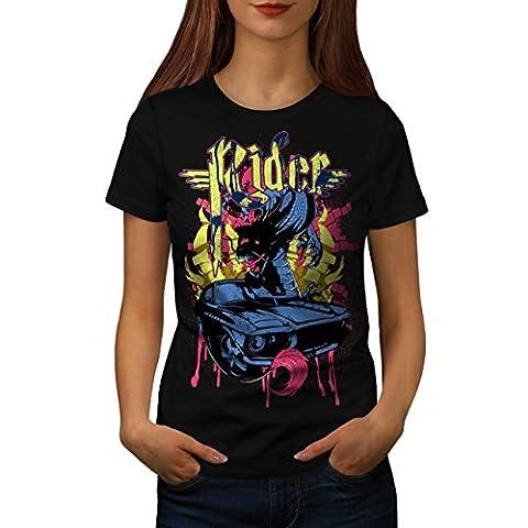 Cavalier Du sang sport Voiture Voiture Women M T-shirt | Wellcoda