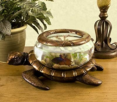 Betta Art Decorative Turtle Bowl