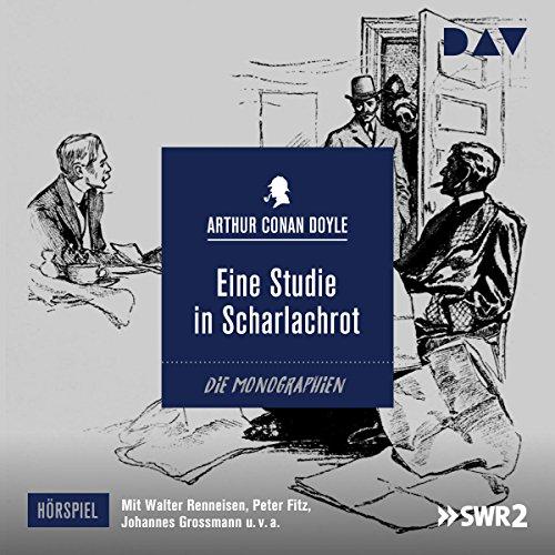 Buchseite und Rezensionen zu 'Eine Studie in Scharlachrot' von Arthur Conan Doyle