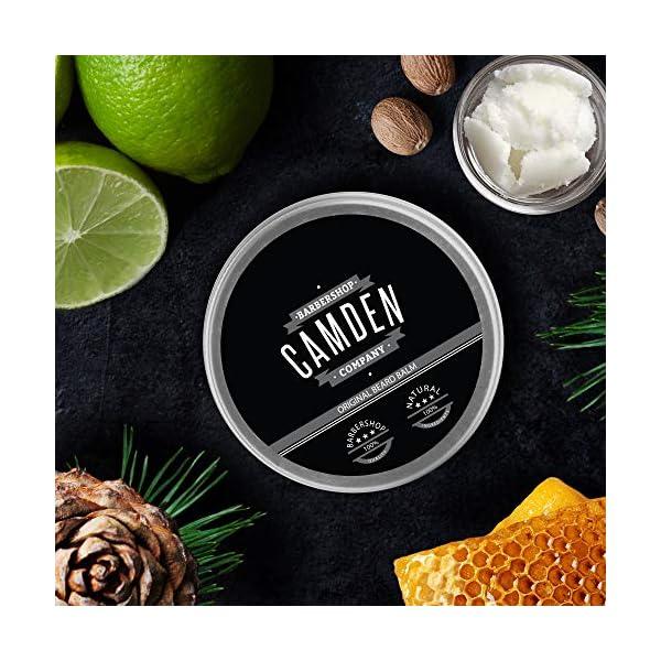 Bálsamo/cera para la barba 'Original' de Camden Barbershop Company ● cuidado natural de la barba ● fresco aroma ● 60 ml
