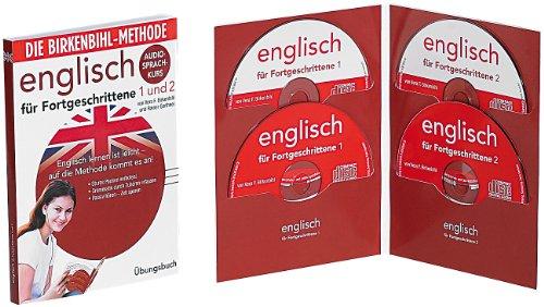 Preisvergleich Produktbild Audio-Sprachkurs Birkenbihl Englisch Fortgeschrittene 1 + 2