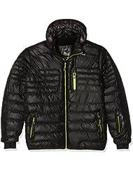 Peak Mountain Capt – Anorak para hombre, Hombre, color negro, tamaño XL