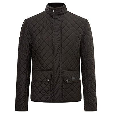ed48cbe60b4b Get Belstaff Quilted Jacket Mens Wilson Black Size 56 XXL at Love Jackets
