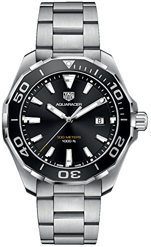 TAG Heuer Aquaracer Herren-Armbanduhr 43mm Quarz Analog WAY101A.BA0746