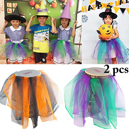 Joyibay 2 stÜcke Halloween Kostüm Kreative DIY Tutu Rock Kostüm Rock Party Rock für Kind