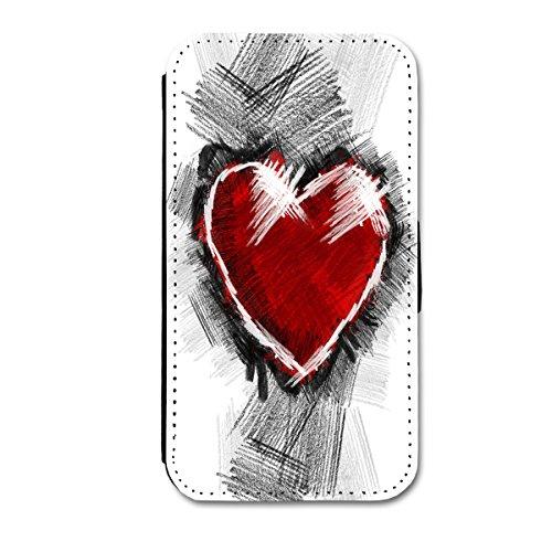 Book Style Flip Handy Tasche Case Schutz Hülle Schale Motiv Etui für Apple iPhone 6 - 4,7 Zoll - A40 Design9 Design 4