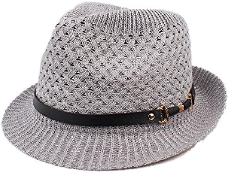 Eyzr Hat Summer Straw English Jazz Summer Hat Hat Summer Hat Big Hat ... cf6be9b0a287