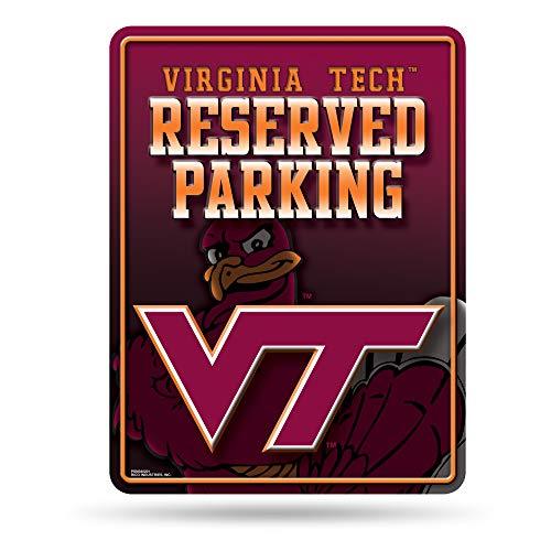 Rico NCAA Virginia Tech Hokies Parkschild aus Metall, 20,3 x 27,9 cm -