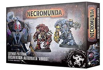 Games Workshop Luther Pattern Excavation Automata ' Ambot' 300-37 - Necromunda