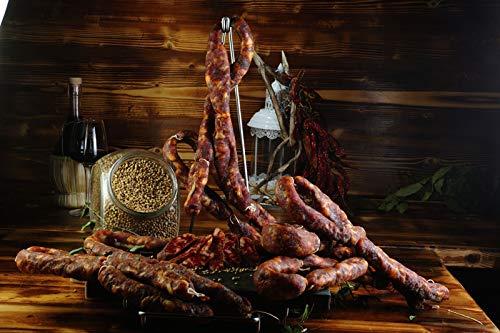 Salsiccia stagionata di monte san biagio dolce gr. 250 ca. sottovuoto