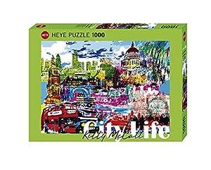 Heye I Love London (Standard 1000 Pz.) Puzle HY29682