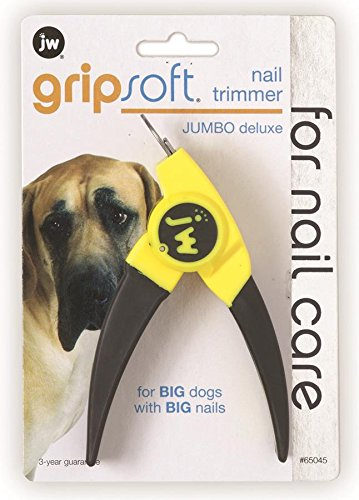 JW Pet Company Deluxe Nail Trimmer für Hunde, Jumbo Guillotine Pet Nail