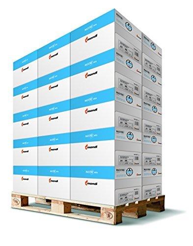 100.000 Blatt Mondi Maestro Extra Kopierpapier 80g/m² DIN-A4 hochweiß Premium Papier (1 Palette)