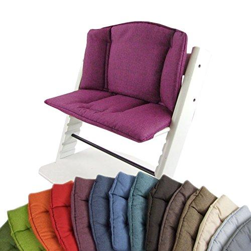 Bambini MONDO Set di ricambio, Federa per cuscino per sedia seggiolone/bambini Stokke Tripp Trapp, Riduttore di seduta (screziato)