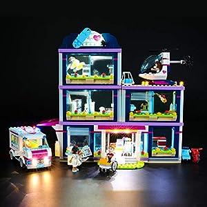 BRIKSMAX Kit di Illuminazione a LED per Lego Friends L'Ospedale di Heartlake,Compatibile con Il Modello Lego 41318… 0716852282579 LEGO