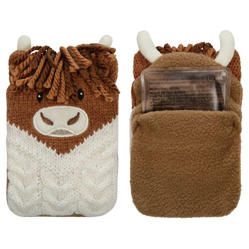 Preisvergleich Produktbild Aroma Home Click und Wärme Handwärmern,  highland Kuh