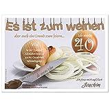 Moderne Einladungen zum Geburtstag 18 20 25 30 40 cool lustig Wunschtext ändern, 10 Karten - 17 x 12 cm