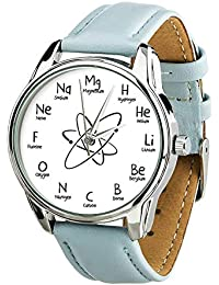 Reloj químico con Elementos químicos