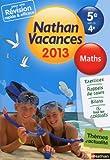 Nathan Vacances Maths- De la 5e vers la 4e