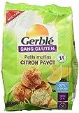 Gerblé Petits Muffins Citron Pavot sans Gluten 210 g