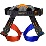 Fusion Fusion Tactical Artemis Military Police Half Body Search Rescue Harness Duty Belt 23kN X-Large Black