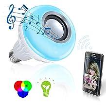 Bombilla LED cromática y altavoz con bluetooth Sonolight