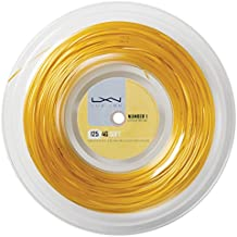 Wilson Luxilon 4G - Cordaje para raquetas , color dorado, talla 130