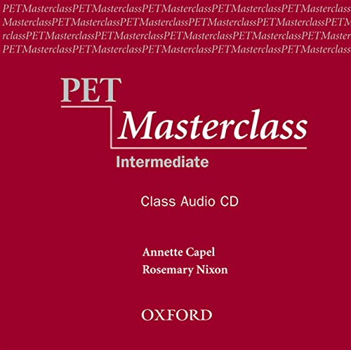 PET Masterclass. Class Audio CD (1) (Preliminary English Test (Pet) Masterclass)