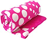 Brandonn Hotpink Polka Wrapping Sheet Cu...