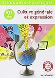 Culture générale et expression. BTS 1ère année
