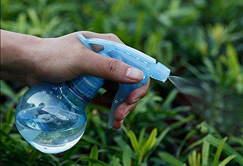 asentechuk 1PCS Kunststoff Spray Flasche, Spritze für Succulents Topfpflanzen, Kugelrund Mini Bewässerung Gerät Sprinkler Spray Flasche 180ml (zufällige Farbe)