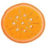 #6: Fruit Shape Bath Sponge Bath Loofah Bath Scrub (Set of 2 Lemon)